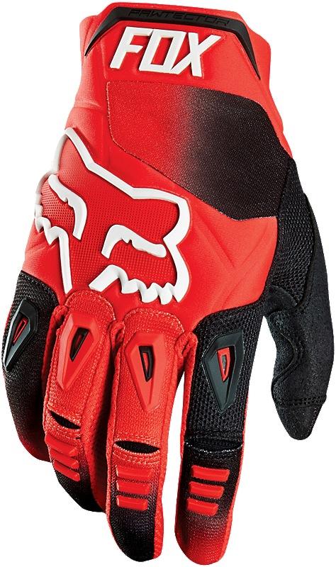Fox Pawtector Race 16 Glove red M (9)