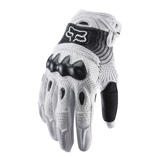 Fox Bomber Glove white L (10)