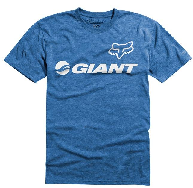 Fox-Giant Tech Tee blue L