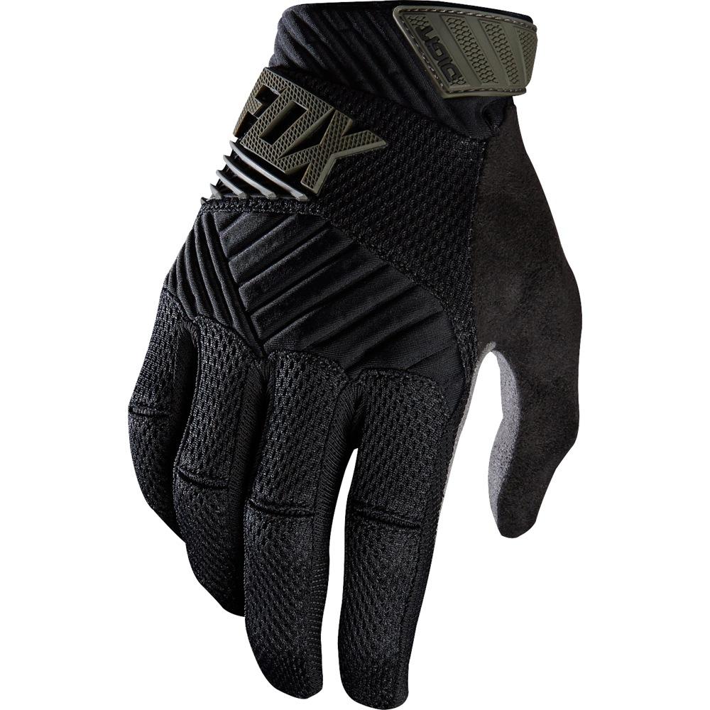 Fox Digit Glove black/grey S