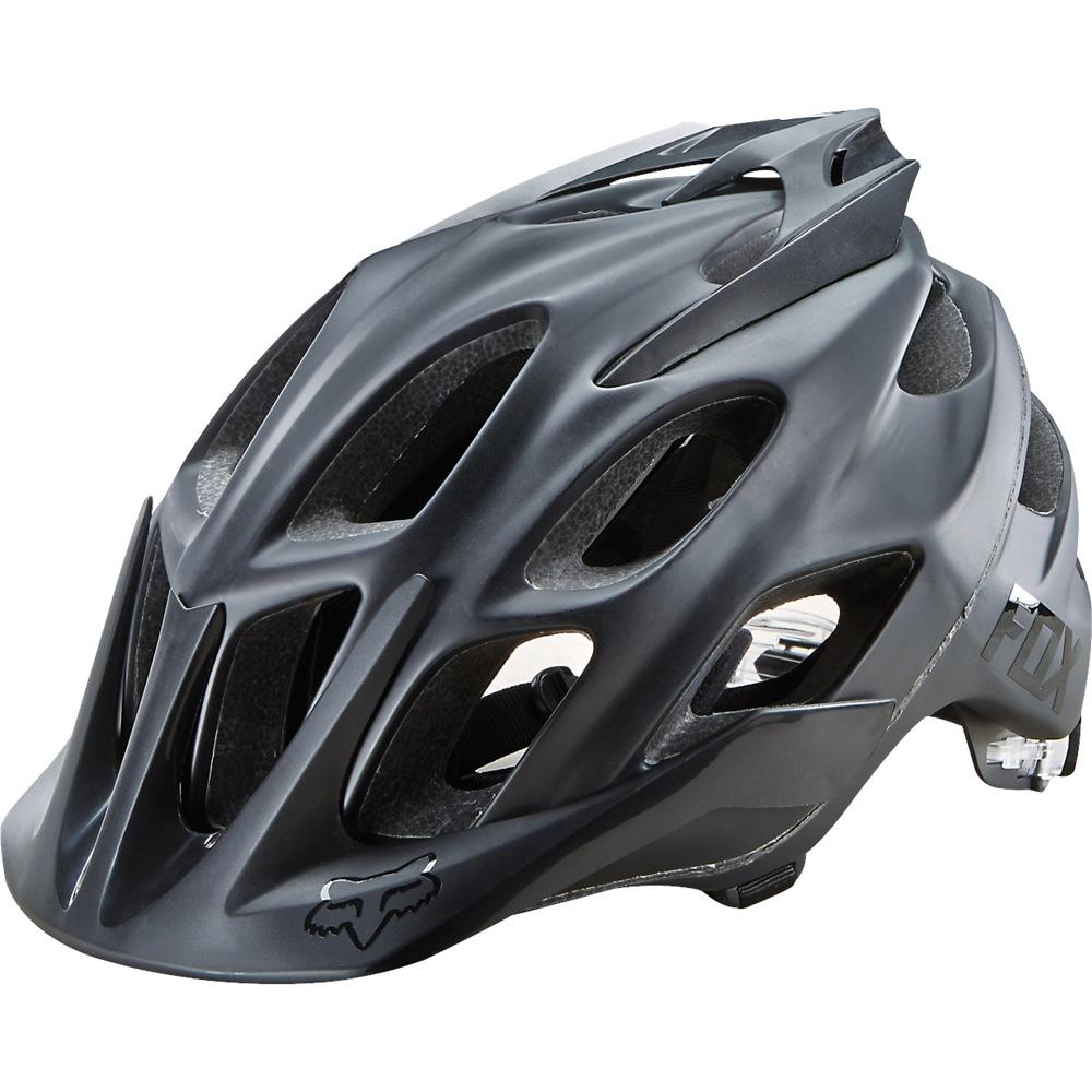 Fox Flux Matte Black Helmet matt black S/M