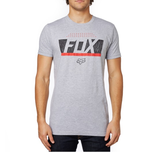 Fox Libra Premium Tee light grey L