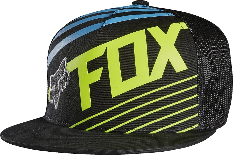 Fox Youth Solvent SnapBack Hat blue