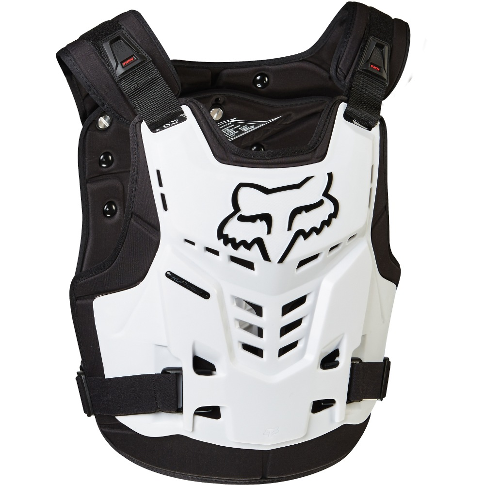 Fox Proframe LC Roost Deflector white S/M