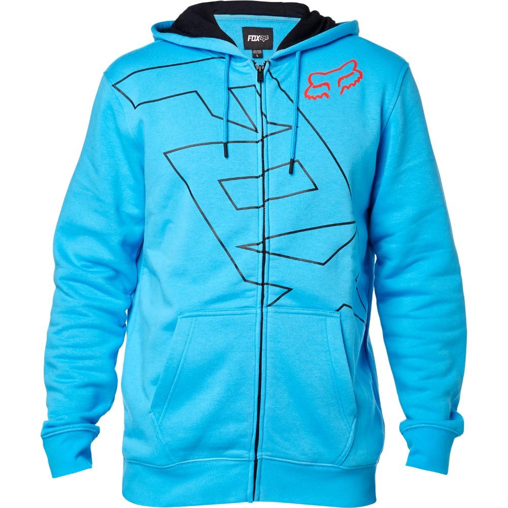 Fox Spyr Zip Fleece blue M