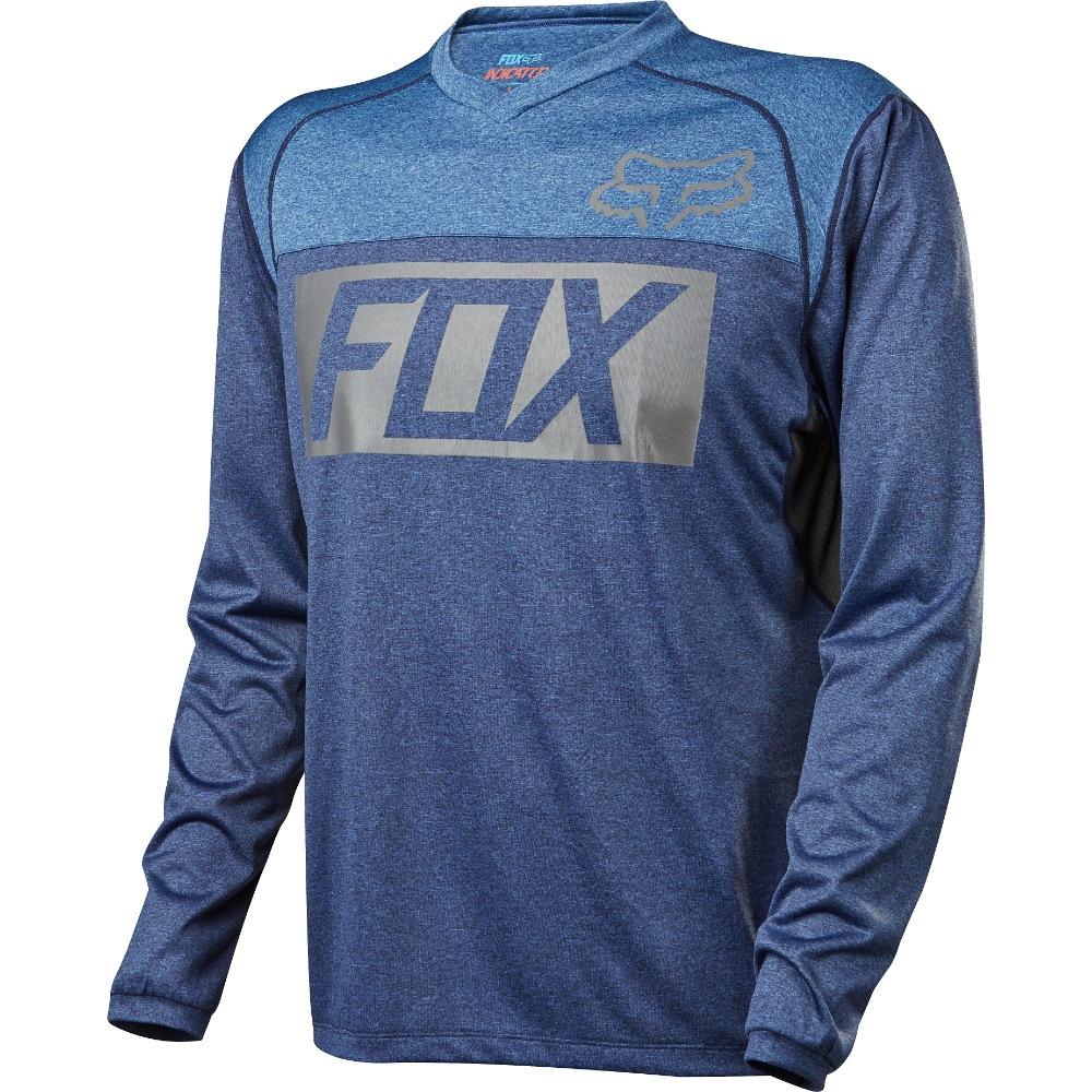 Fox Indicator LS Jersey L heather blue