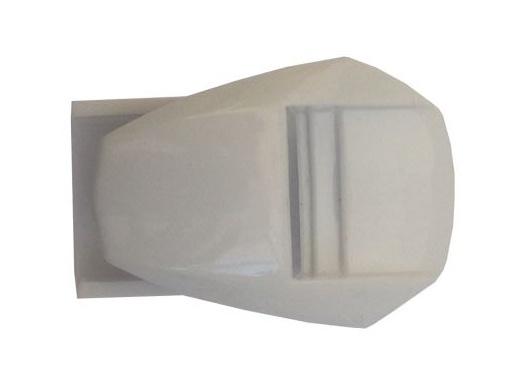 Fox F3/Comp 5 Strap Pass white