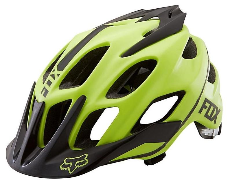 Fox Flux Helmet L/XL acid green
