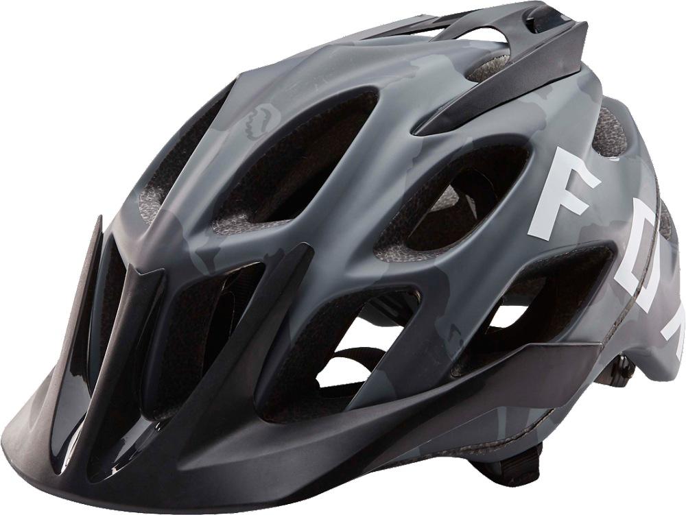 Fox Flux Camo Helmet black camo S/M