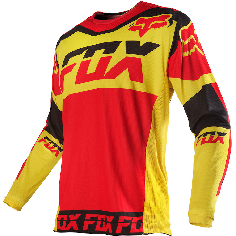 Fox 180 Mako 16 Jersey yellow M