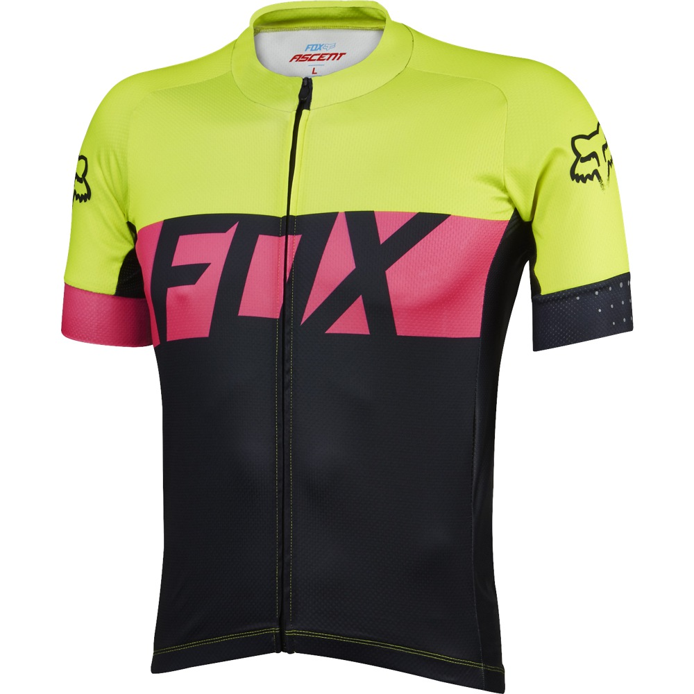 Fox Ascent Jersey L fluo yellow