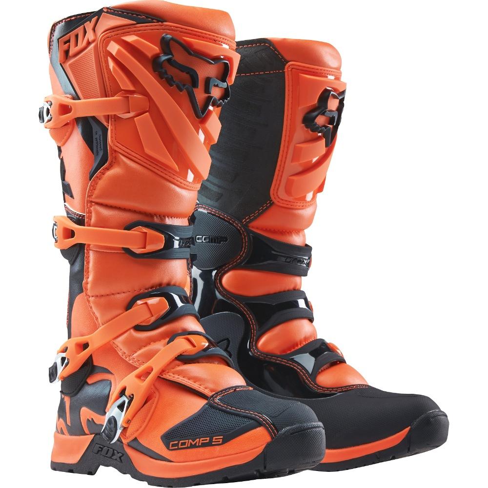 Fox Comp 5 Boot orange US 10