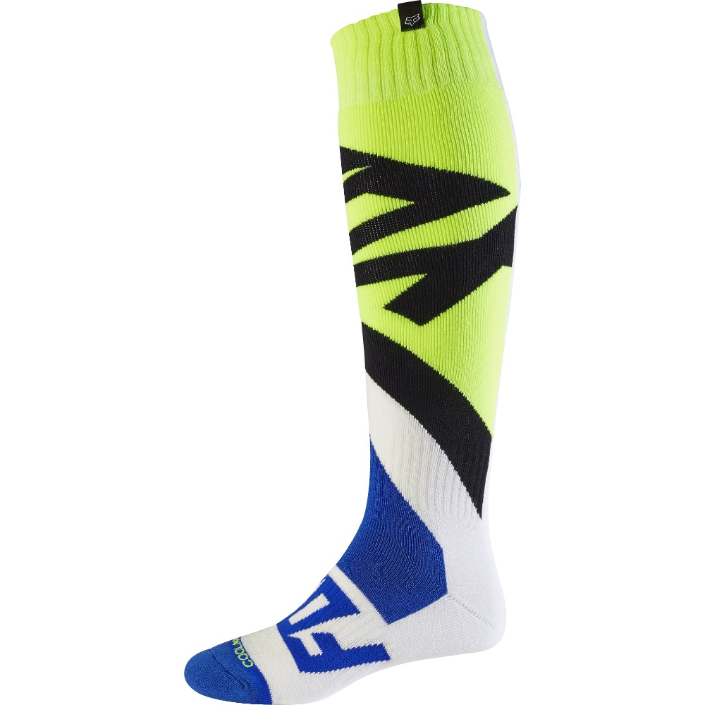 Fox Coolmax Creo MX17 Thick Sock M white/yellow
