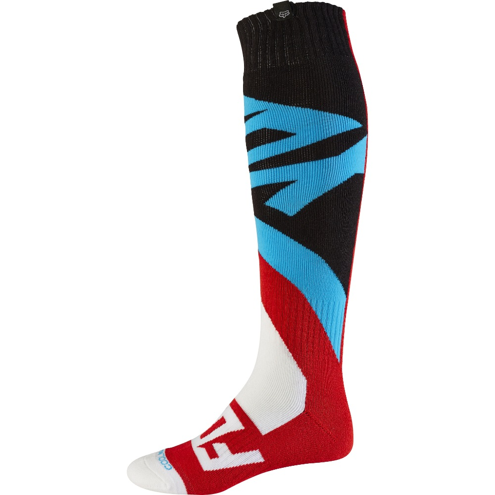 Fox Coolmax Creo MX17 Thick Sock red M