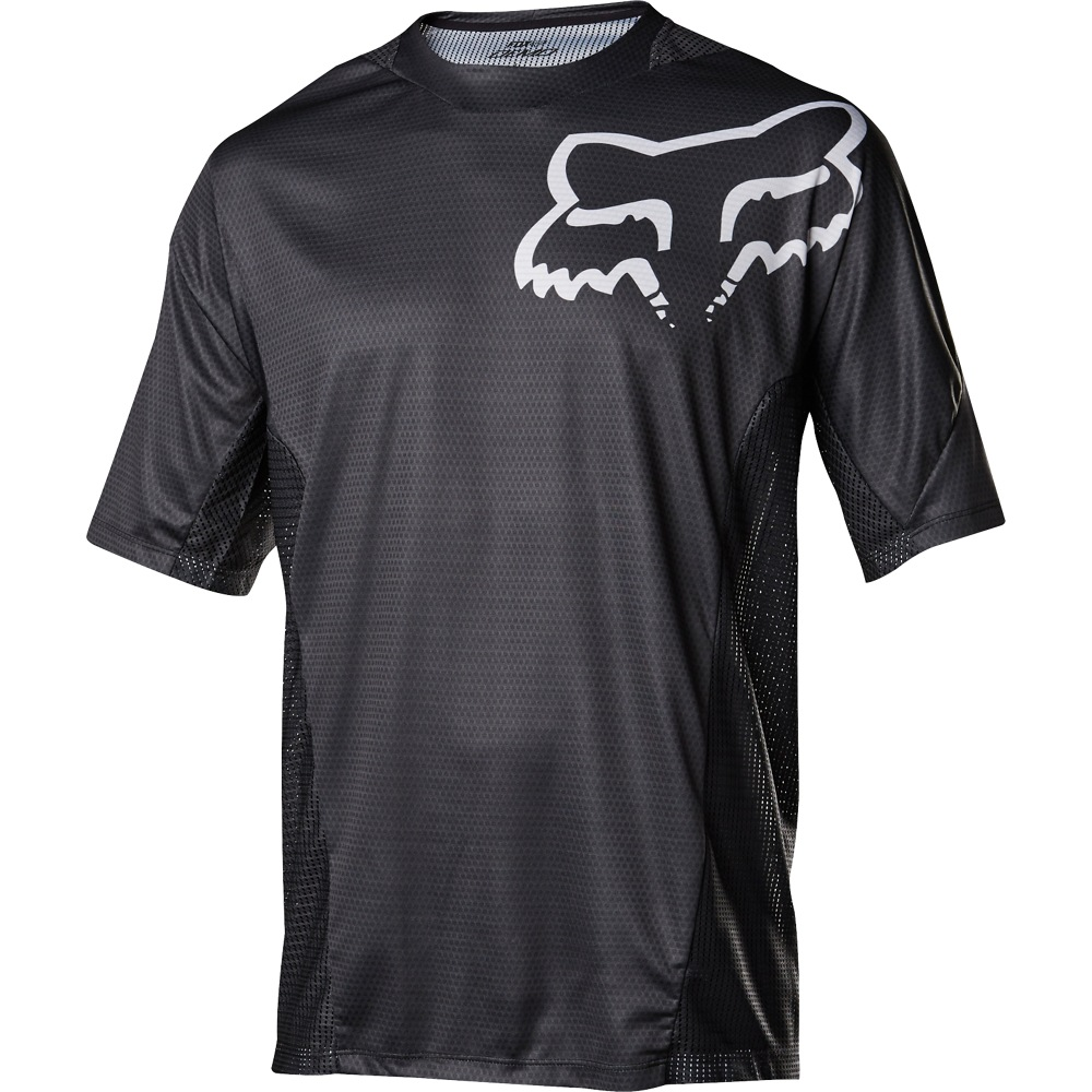 Fox Demo SS Jersey black/white M