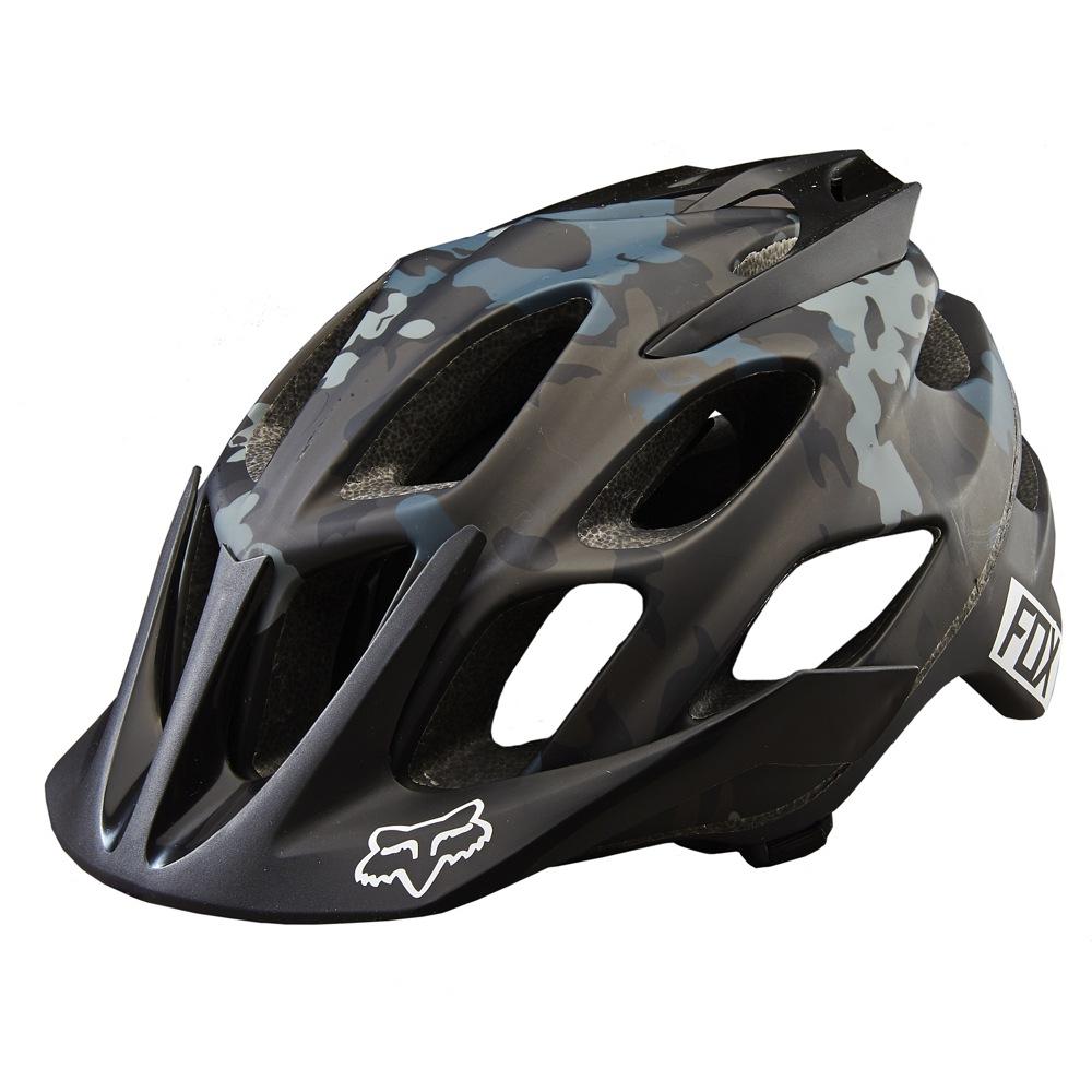 Fox Flux Camo Helmet camo S/M