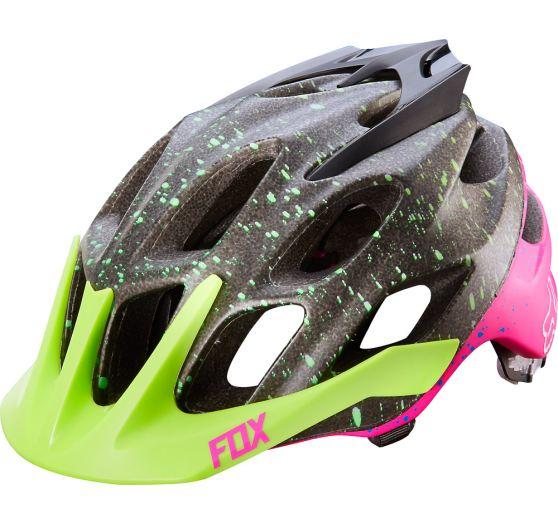 Fox Flux Flight Helmet black/pink L/XL