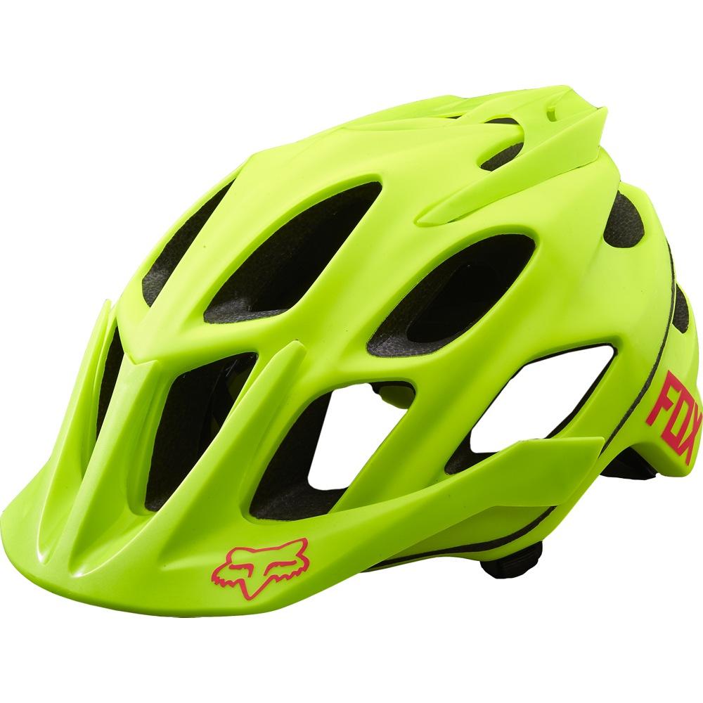 Fox Flux Optik Helmet S/M fluo yellow