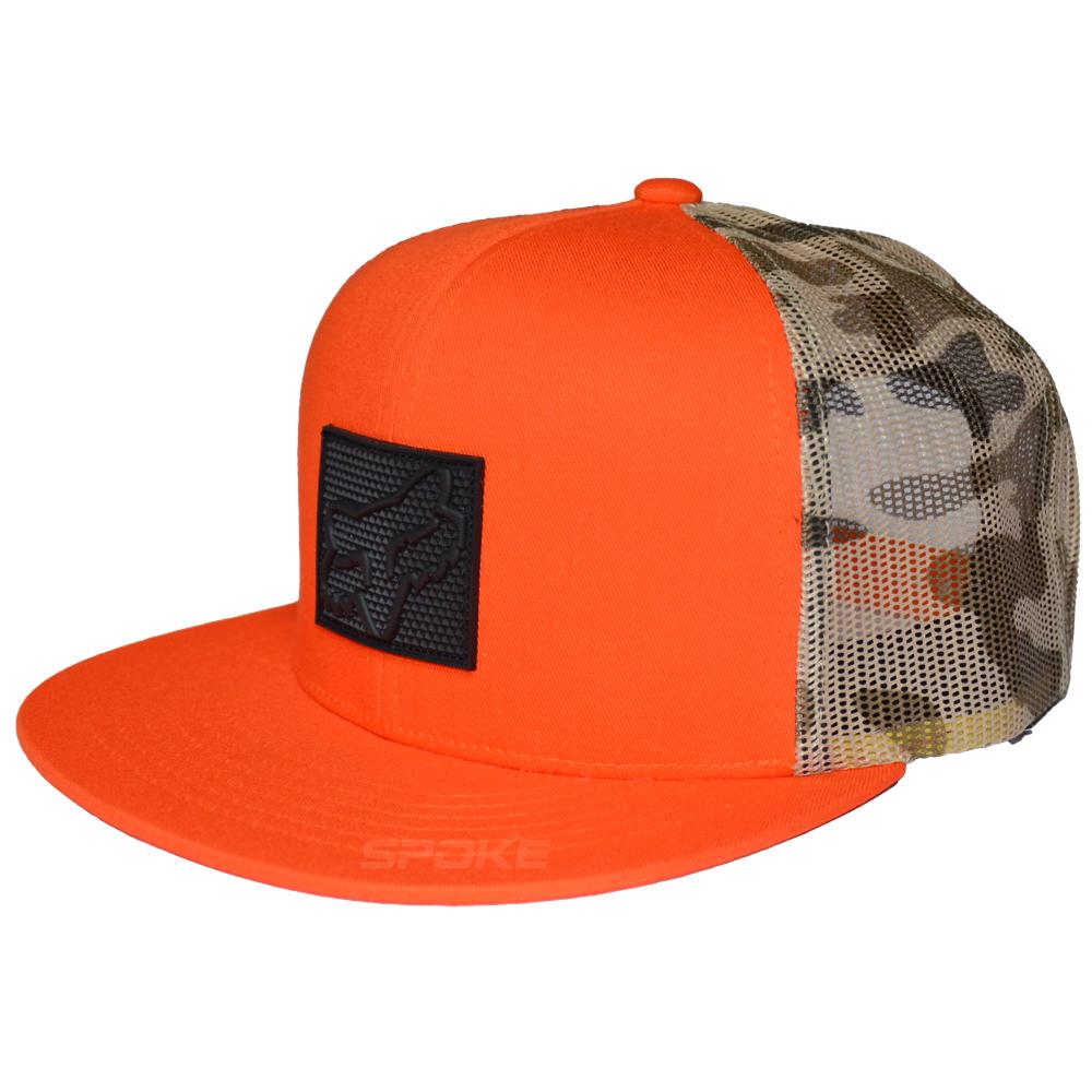 Fox Foretell Snapback Hat dark camo