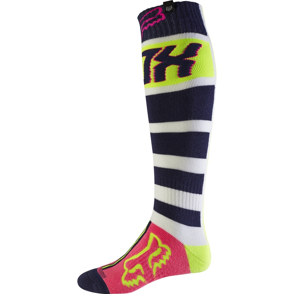 Fox FRI Falcon MX17 Thick Sock M navy/white