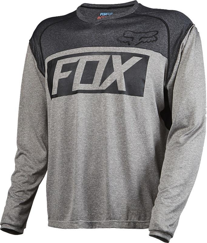 Fox Indicator LS Jersey XL heather graphite