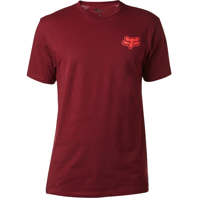 Fox Interaction Premium Tee burgundy L