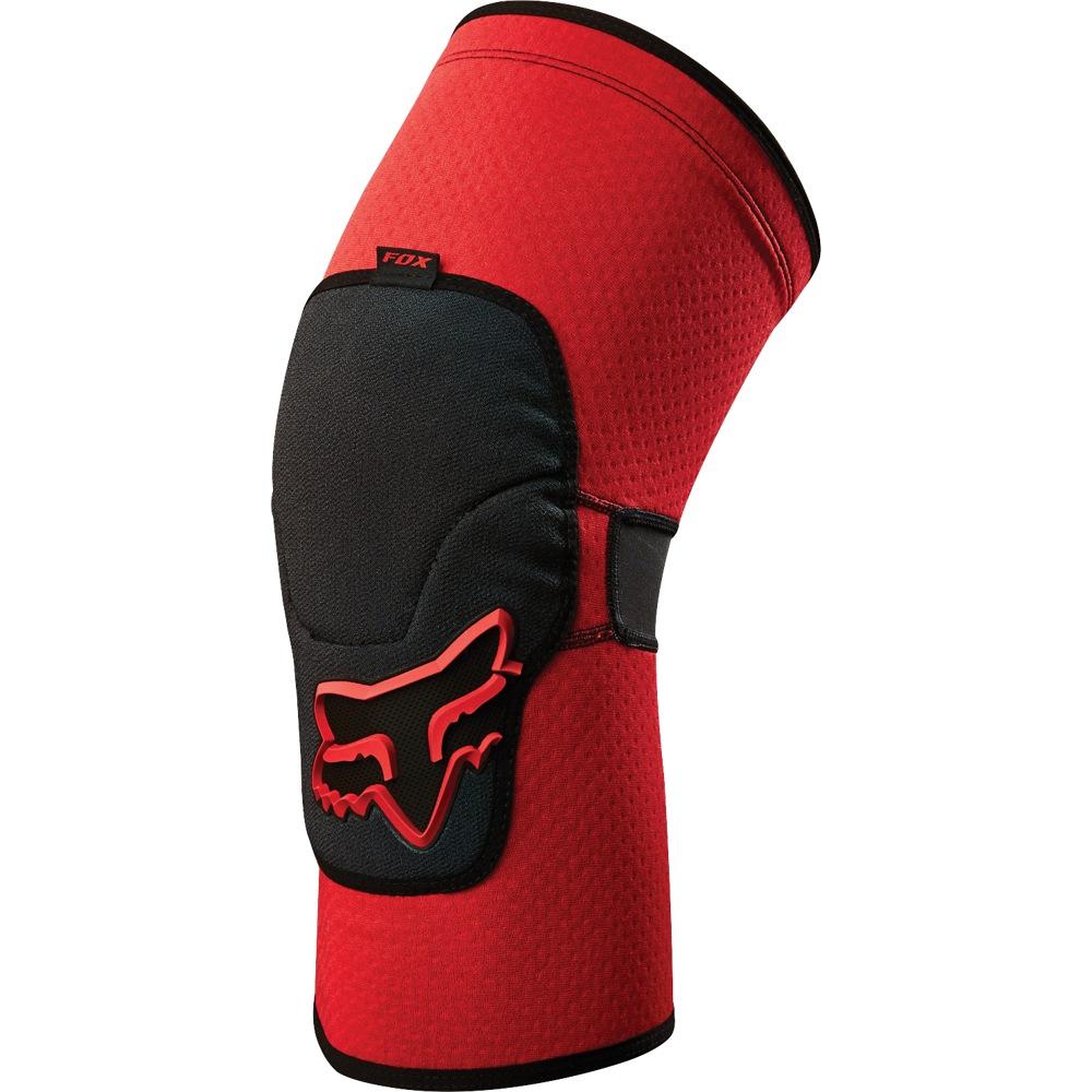 Fox Launch Enduro Knee Pad red S