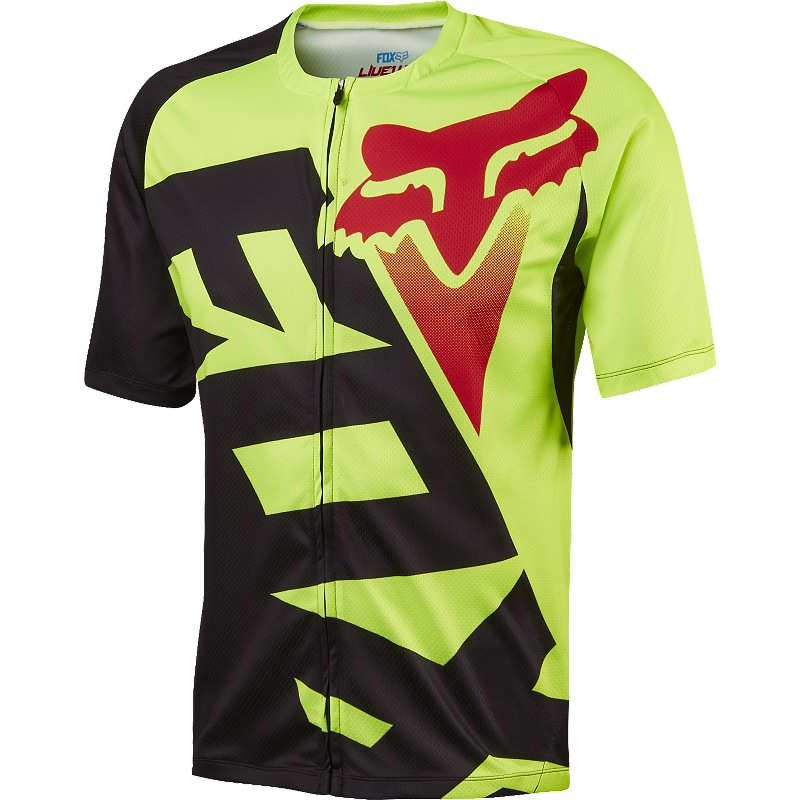 Fox Livewire Jersey M fluo yellow