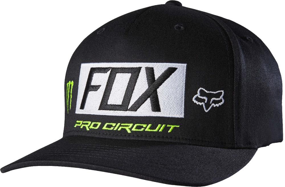 Fox Monster Paddock Flexfit Hat black L/XL