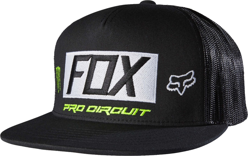 Fox Monster Paddock SnapBack Hat black