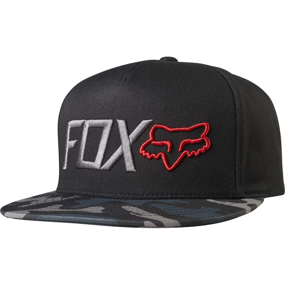 Fox Obsessed Snapback Hat black camo