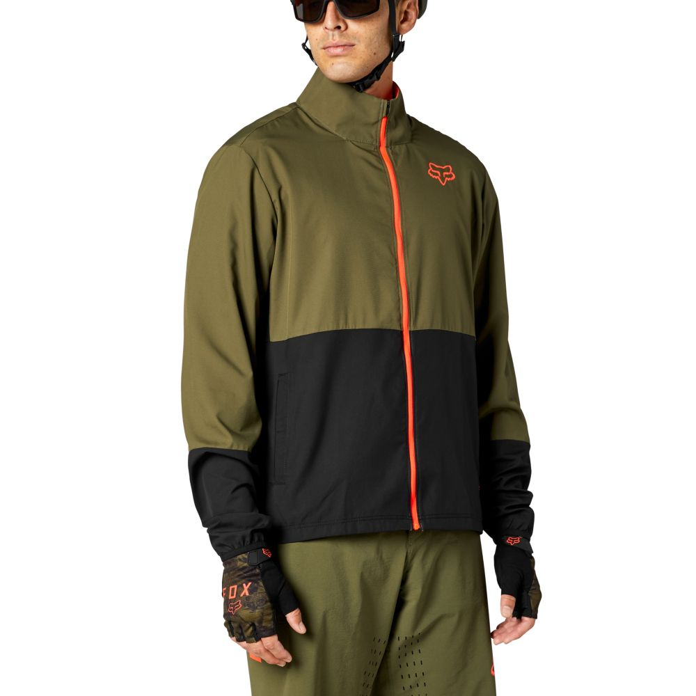 Fox Ranger Wind Jacket S olive green