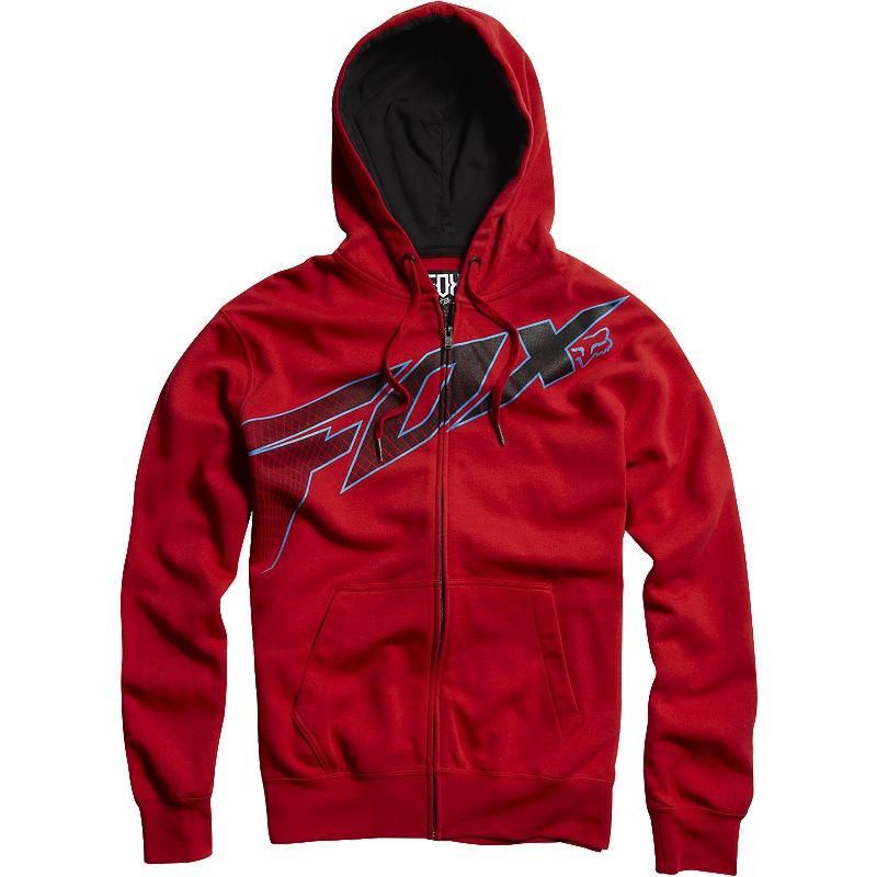 81ef80842ee0 Fox Redcard Zip Front Fleece