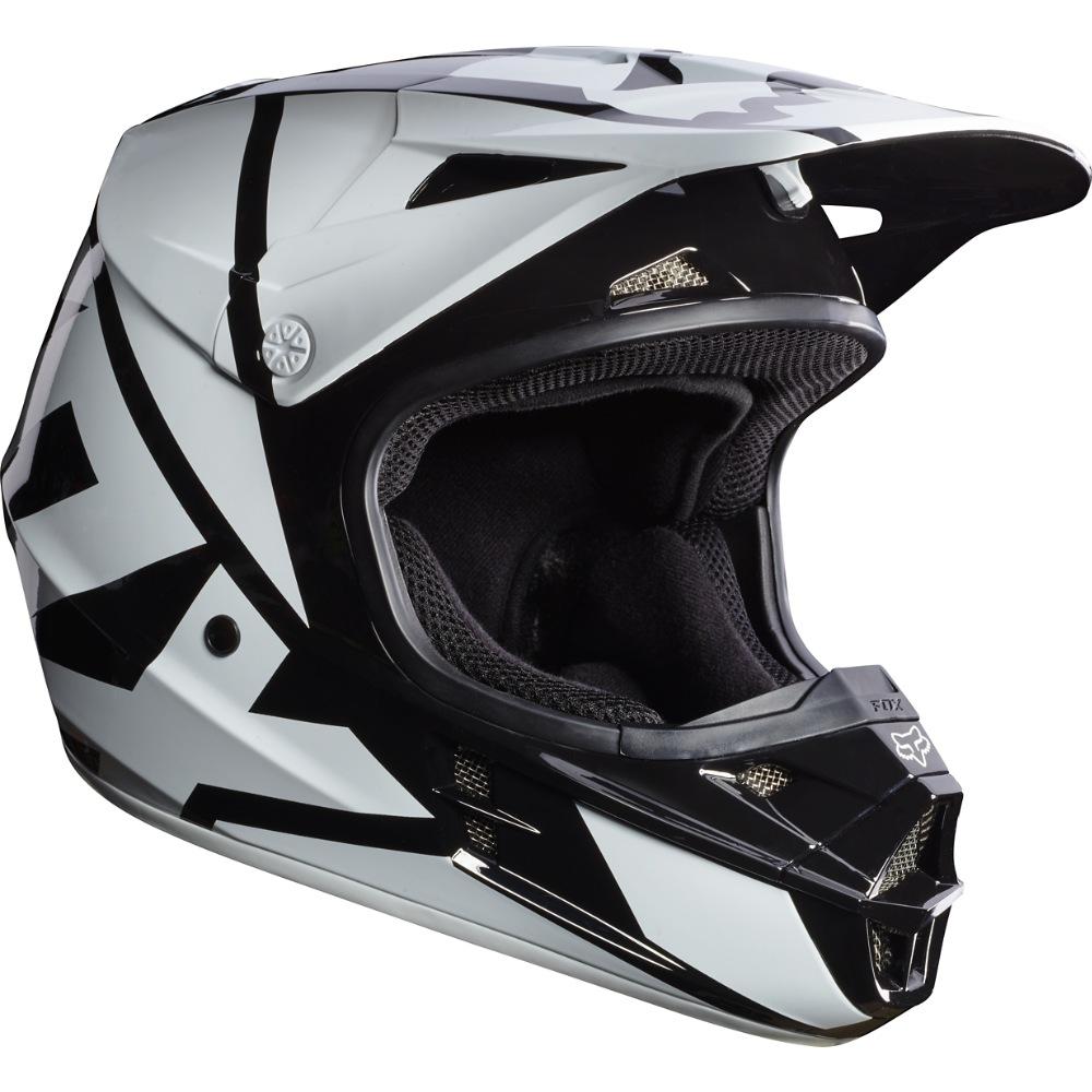 Fox V1 Race MX17 Helmet black S