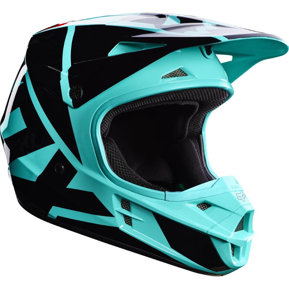 Fox V1 Race MX17 Helmet green L
