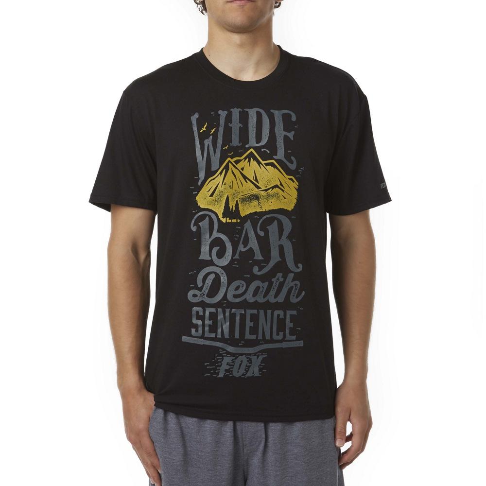 Fox Wide Bar Tech Tee black M