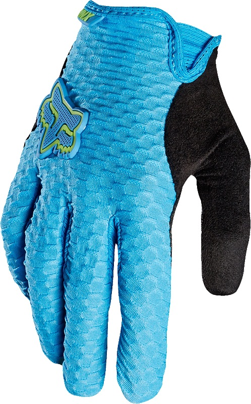 Fox Womens Lynx Glove cyan M (9)