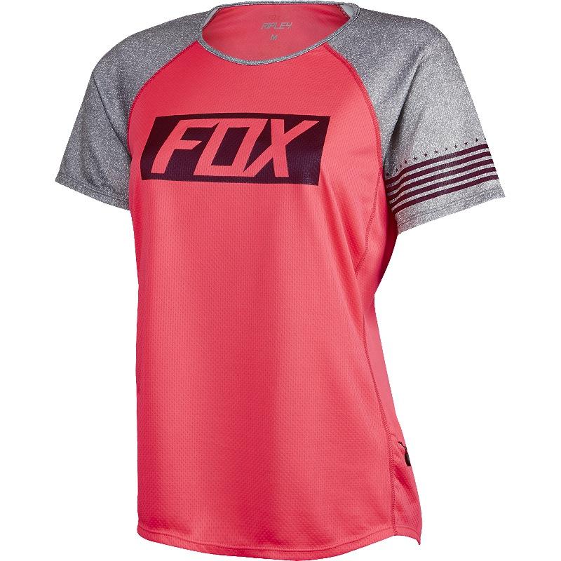 Fox Womens Ripley Jersey red L