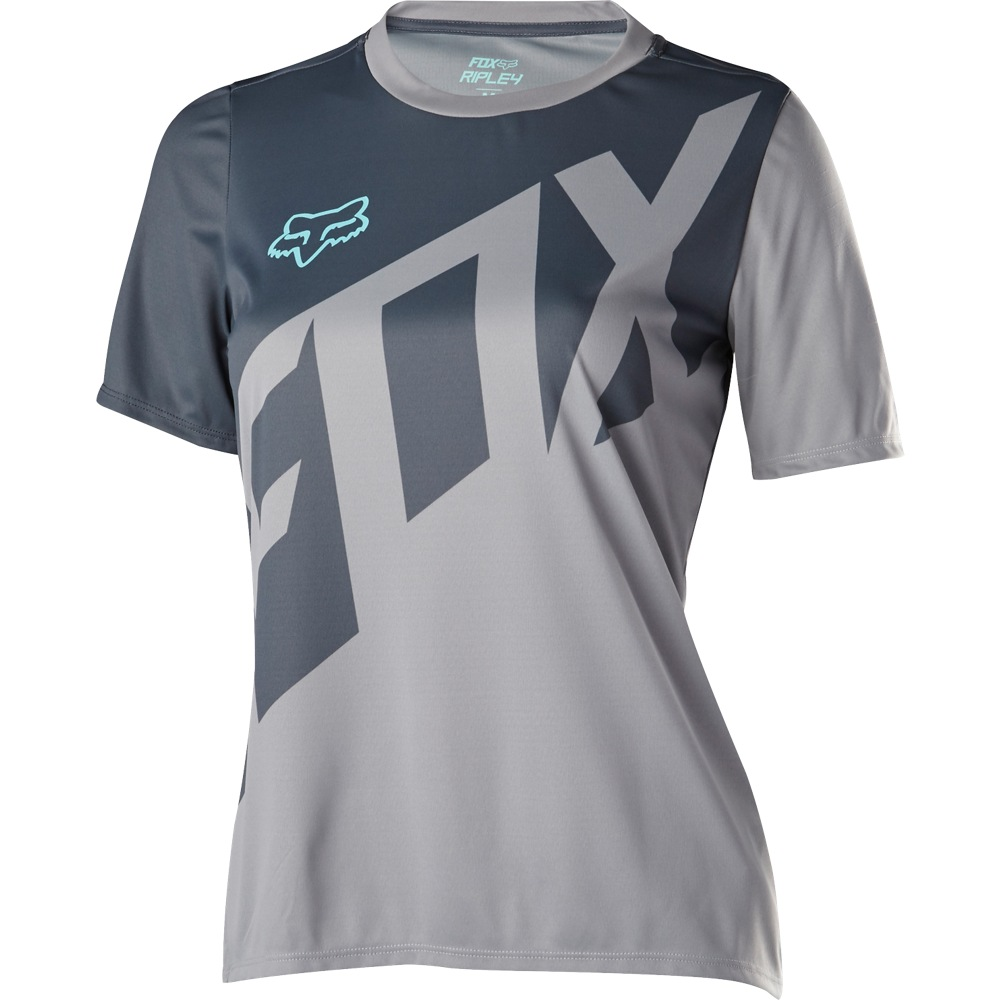 Fox Womens Ripley SS Jersey grey M