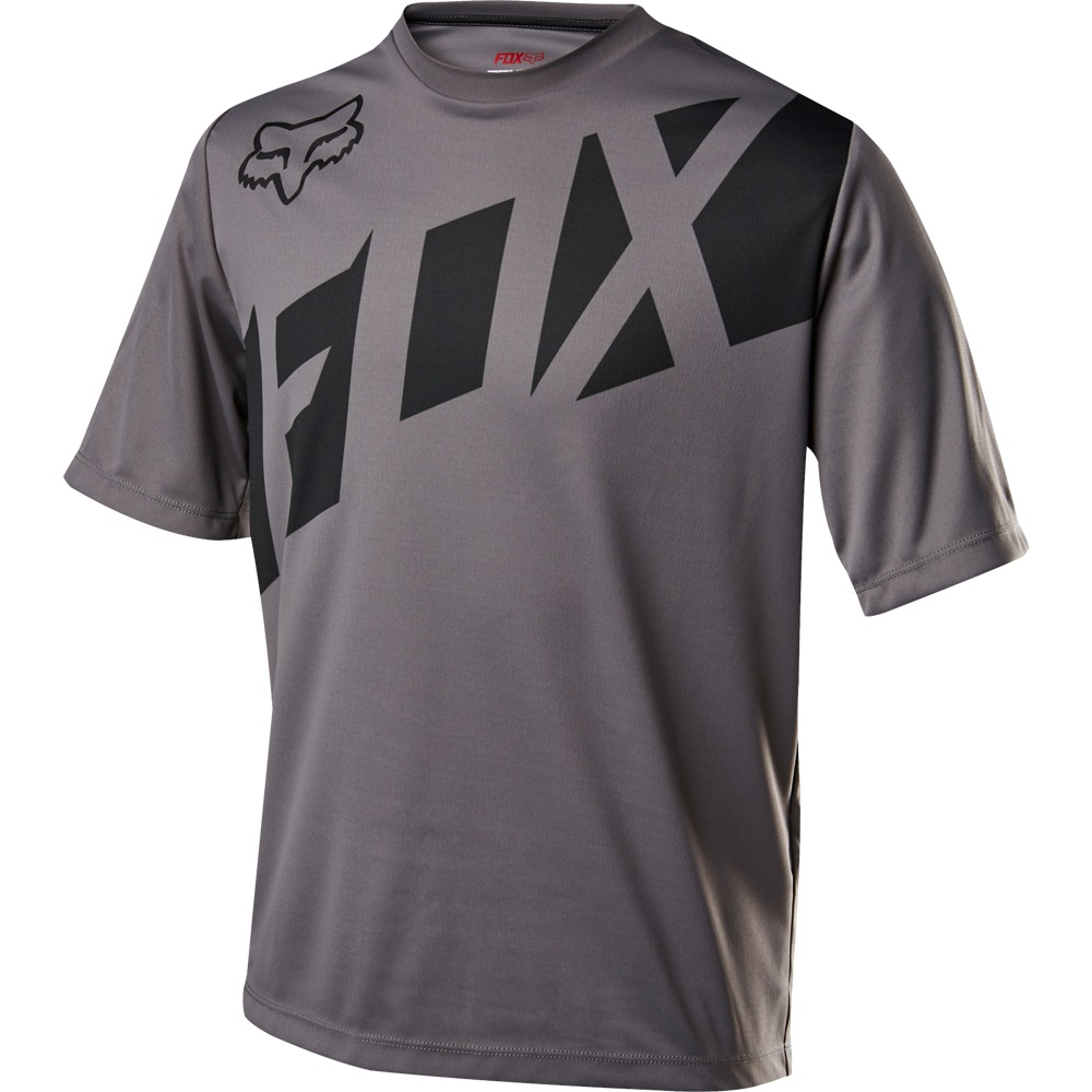 Fox Youth Ranger SS Jersey graphite L