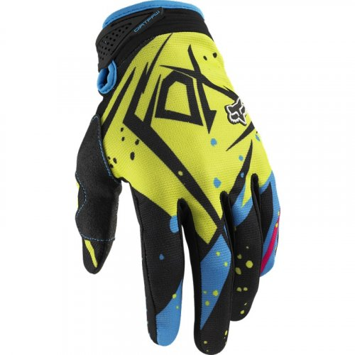 Fox Dirtpaw Undertow 12 Glove (green/blue)