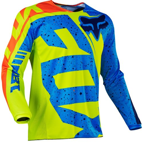 Fox 180 Nirv MX17 Jersey (yellow/blue)