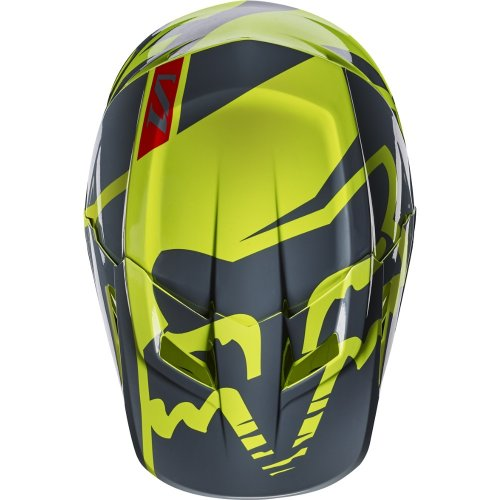Fox V1 Race MX17 Helmet (yellow)