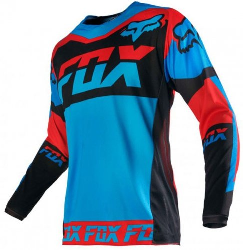 Fox 180 Mako 16 Jersey (blue/red)