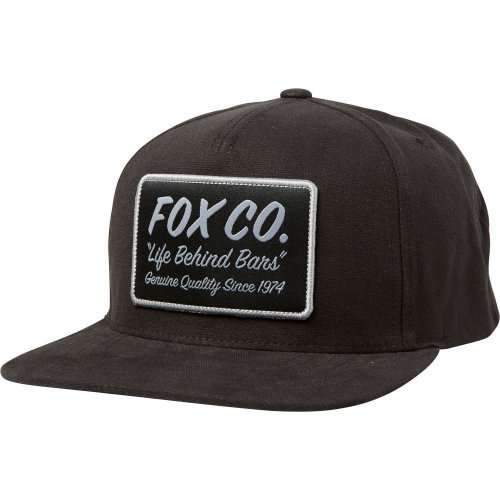 Fox Resin Snapback Hat