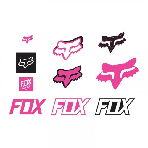 Fox Track Sticker Pack