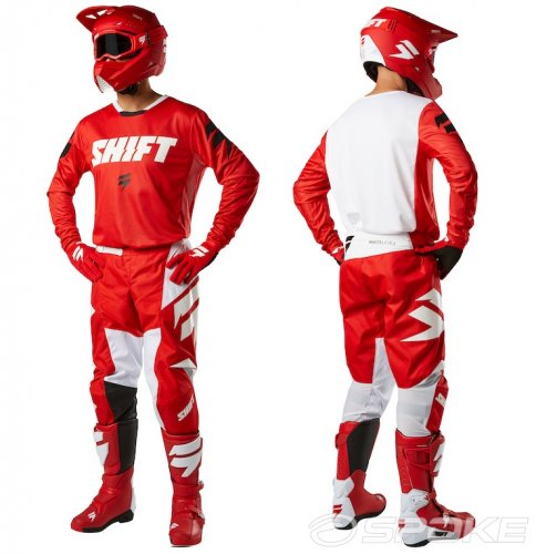 Shift White Label Ninety Seven Gear Set (red)